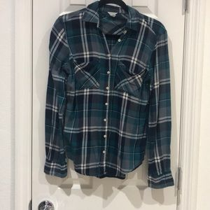 Plaid Flannel Shirt Size Small